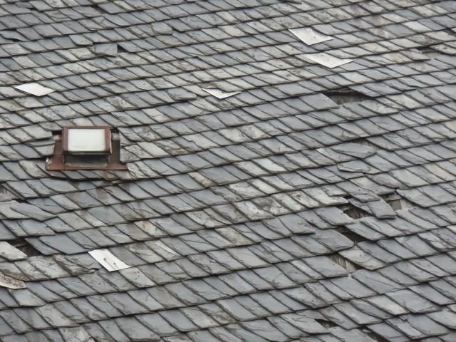 Slate Tile Roof Installation In Woodstock Barrington