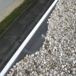 Flat roof Sauganash IL - EPDM rubber flat roof with gravel