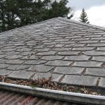 Heavily deteriorated old shingles will compromise reroofing - Illinois asphalt shingles roof