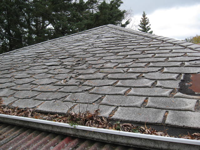Superb Heavily Deteriorated Old Shingles Will Compromise Reroofing   Illinois  Asphalt Shingles Roof