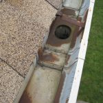 Illinois roofing contractor - galvanized steel gutters are durable but will eventually corrode