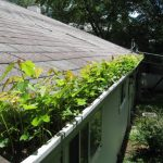 Illinois roofing contractor - keeping your gutters clean is necessary for your roof to drain properly