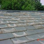 Tile roofing materials - Slate tile roof deteriorating