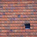 Slate tile roof in colors