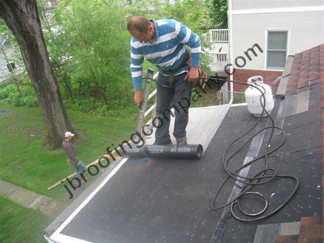 torch down roofing in illinois by jb roofing