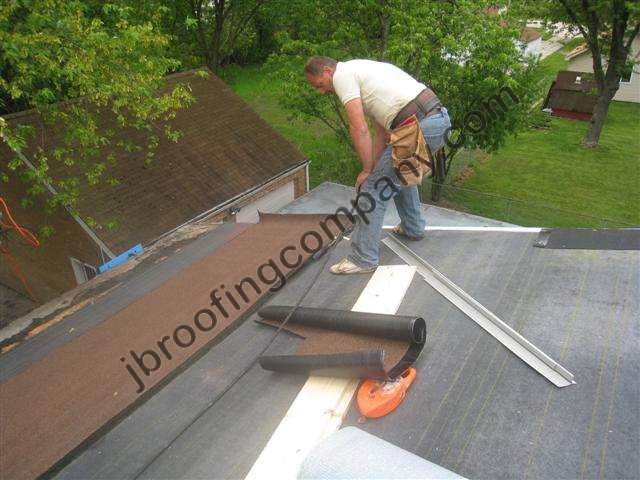 Torch Down Roofing Installation In Illinois By Jb Roofing