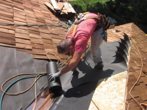 Highwood Illinois Wood Shingles Installation